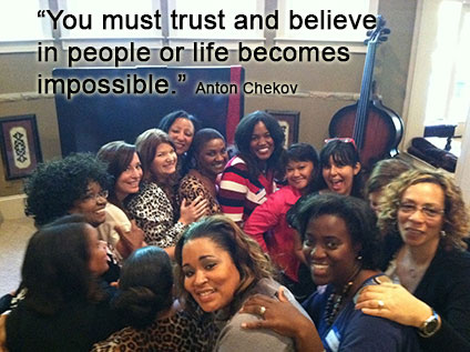 """""""You must trust and believe in people or life becomes impossible."""""""