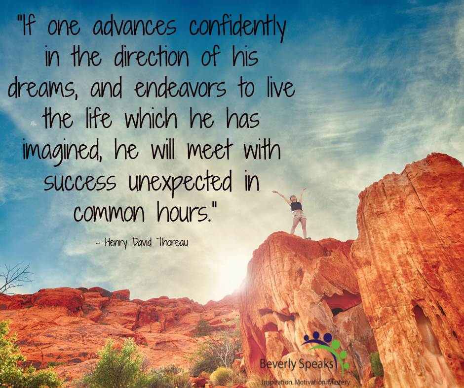 advance confidently